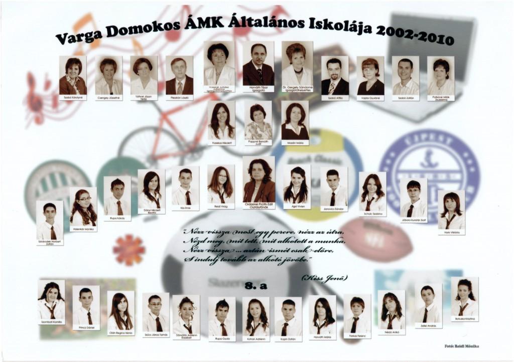 2010. - 8.a