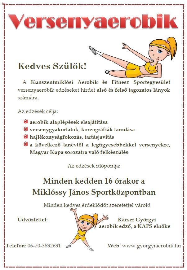 Versenyaerobik plakát1